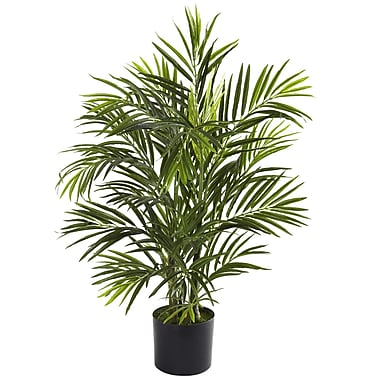 Nearly Natural 5387 Areca Palm UV Resistant Plant in Pot