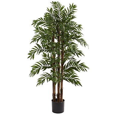 Nearly Natural 5405 4' Parlour Palm Tree in Pot