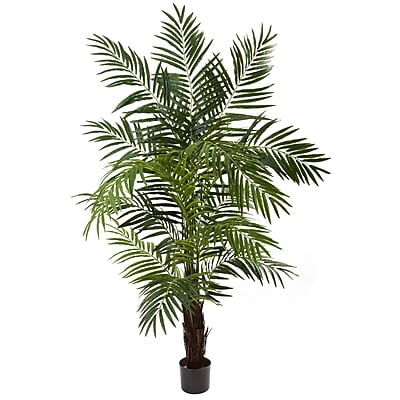 Nearly Natural 5408 6' Areca Palm Tree in Pot