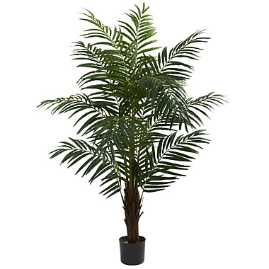 Nearly Natural 5416 5' Areca Palm Tree in Pot