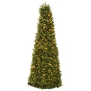 "Nearly Natural 5921 39"" Boxwood Cone Lighted"
