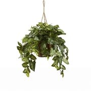 Nearly Natural 6738 Nepthytis Hanging Plant in Basket
