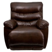 Flash Furniture Contemporary Tonto Bonded Leather Rocker Recliner, Espresso