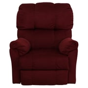 Flash Furniture Contemporary Top Hat Microfiber Rocker Recliners