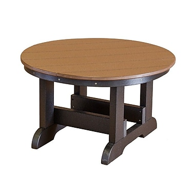 Little Cottage Company Heritage Conversation Table; Bright Red