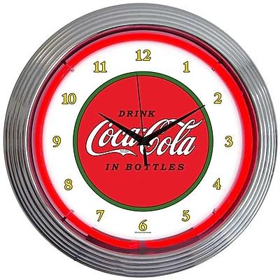 Neonetics Drinks 15'' Coca Cola 1910 Classic Wall Clock