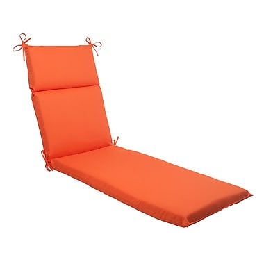 Pillow Perfect Sundeck Outdoor Chaise Lounge Cushion