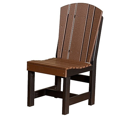 Little Cottage Company Heritage Dining Side Chair; Tudor Brown