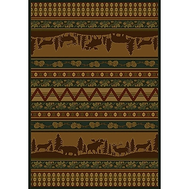 Marshfield Marshfield Pine Valley Novelty Area Rug; 7'10'' x 10'6''