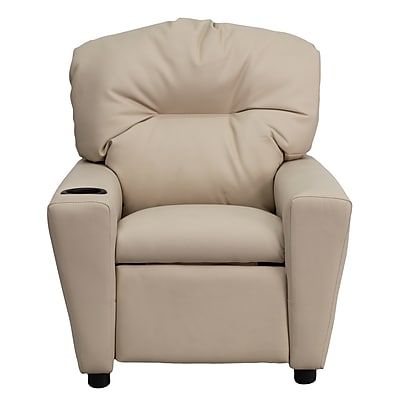 Flash Furniture Wood Recliner, Beige (BT7950KIDBGE)