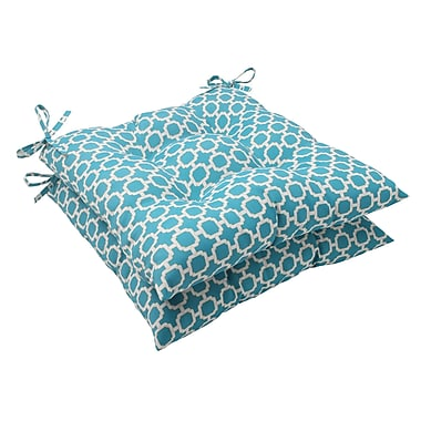 Pillow Perfect Hockley Outdoor Seat Cushion (Set of 2)