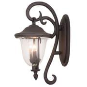 Kalco Santa Barbara 4-Light Outdoor Wall Lantern; Burnished Bronze