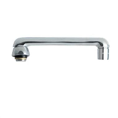 Chicago Faucets Replacement Parts 6'' Cast Swing Spout w/ ''E3'' Aerator