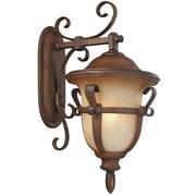 Kalco Tudor 4-Light Outdoor Wall Lantern; Textured Matte Black