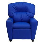 Flash Furniture Wood Recliner, Blue (BT7950KIDBLUE)