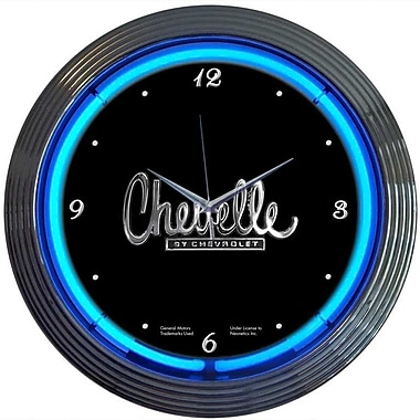 Neonetics Cars and Motorcycles 15'' Chevelle Wall Clock