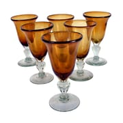 Novica Javier and Efren Goblet (Set of 6)