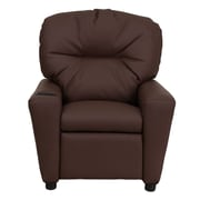 Flash Furniture Wood Recliner, Brown (BT7950KIDBRNLEA)