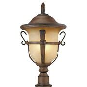 Kalco Tudor Outdoor 4-Light Lantern Head; Textured Matte Black