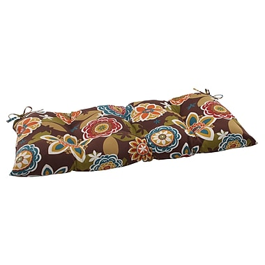 Pillow Perfect Annie Outdoor Loveseat Cushion