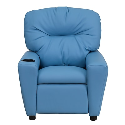 Flash Furniture Wood Recliner, Light Blue (BT7950LTBLUE)
