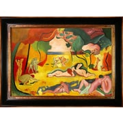 Tori Home The Joy of Life by Henri Matisse Framed Painting