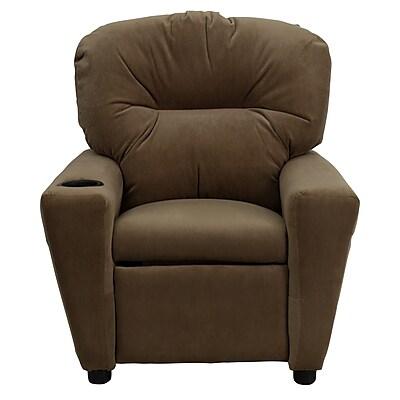 Flash Furniture Wood Recliner, Brown (BT7950KIDMICBRN)
