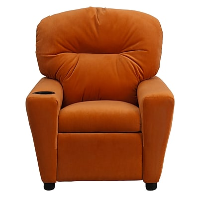 Flash Furniture Wood Recliner, Orange (BT7950KIDMICORG)