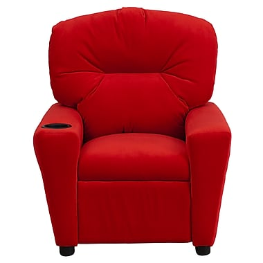 Flash Furniture Wood Recliner, Red (BT7950KIDMICRED)