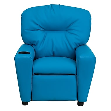 Flash Furniture Wood Recliner, Turquoise (BT7950KIDTURQ)
