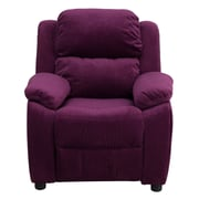 Flash Furniture Deluxe Wood Recliner, Purple (BT7985KIDMICPUR)