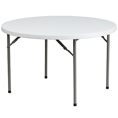 Flash Furniture – Table pliante de 48 pi, blanc granite (DADYCZ122R)