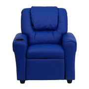 Flash Furniture Wood Recliner, Blue (DGULTKIDBLUE)