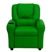 Flash Furniture Wood Recliner, Green (DGULTKIDGRN)