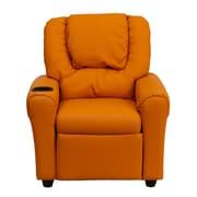 Flash Furniture Wood Recliner, Orange (DGULTKIDORANGE)