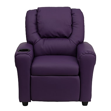 Flash Furniture Wood Recliner, Purple (DGUTLKIDPUR)