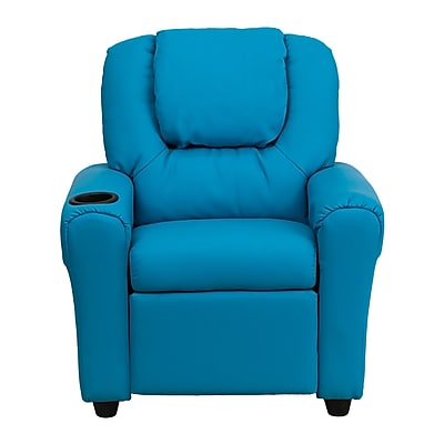 Flash Furniture Wood Recliner, Turquoise (DGULTKIDTURQ)