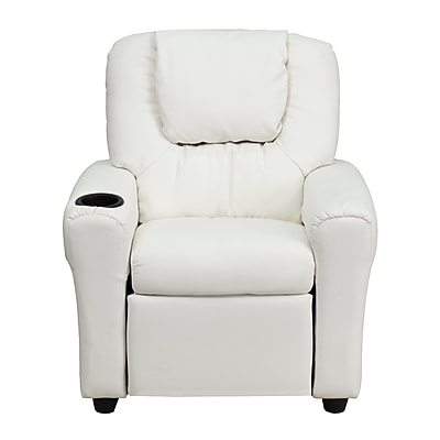 Flash Furniture Wood Recliner, White (DGULTKIDWHITE)