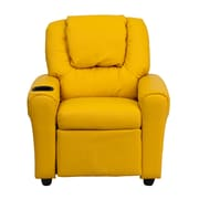 Flash Furniture Wood Recliner, Yellow (DGULTKIDYEL)
