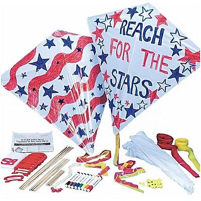 Geeperz™ Color-Me™ Diamond Kites Craft Kit, 12/Pack