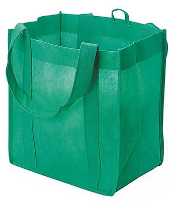 Geeperz™ Reduce Reuse Recycle Green Tote Bag Craft Kit, 12/Pack