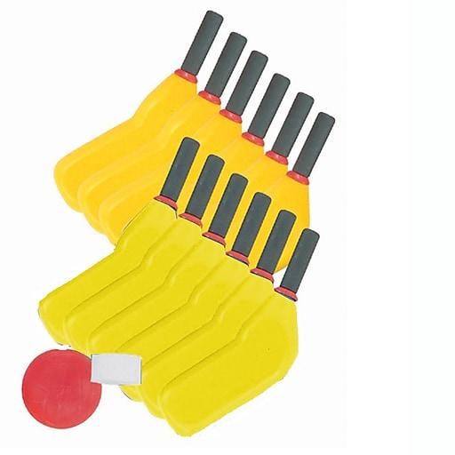 "S&S® 6"" Softee Scooter Hockey Stick, Yellow"