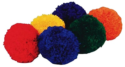 """""Spectrum Fleece Ball, 4""""""""(Dia.), Assorted, 6/Set"""""" 16267"