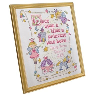 Princess Birth Record Counted Cross Stitch Kit, 10