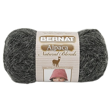 Alpaca Natural Blends Yarn, Ebony
