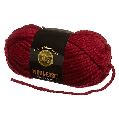 Wool-Ease Thick & Quick Yarn, Cranberry
