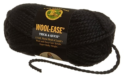 Wool-Ease Thick & Quick Yarn, Black