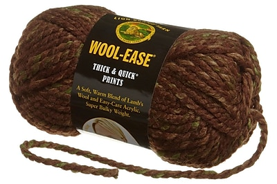 Wool-Ease Thick & Quick Yarn, Mesquite Print
