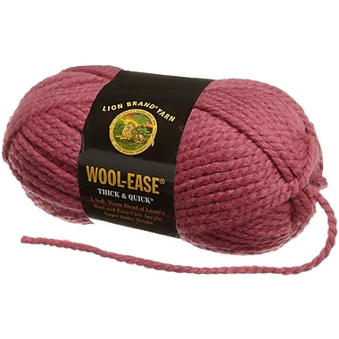 Wool-Ease Thick & Quick Yarn, Raspberry