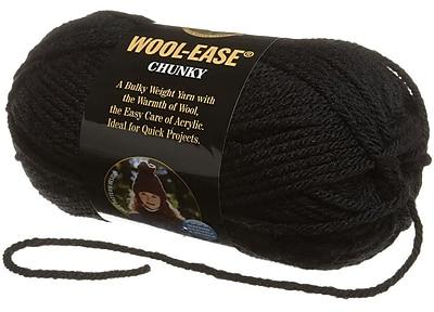 Wool, Ease Chunky Yarn, Black